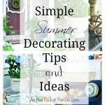 Summer-decorating-tips-and-ideas atthepicketfence.com