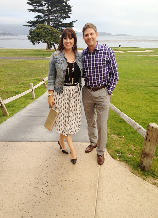 Robb and Vanessa Pebble Beach