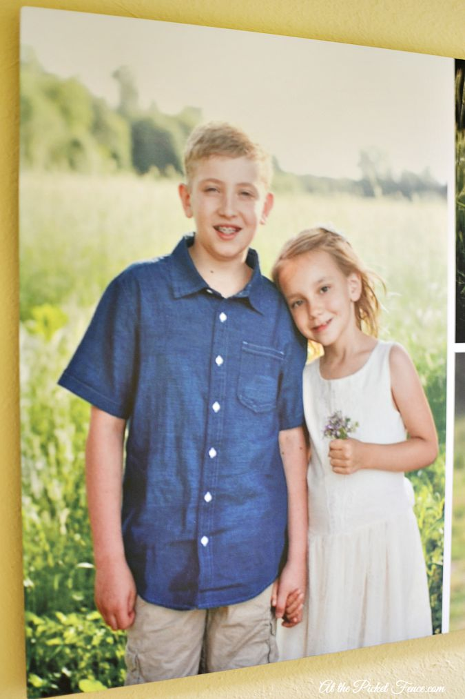 photo of kids on metal frame atthepicketfence.com