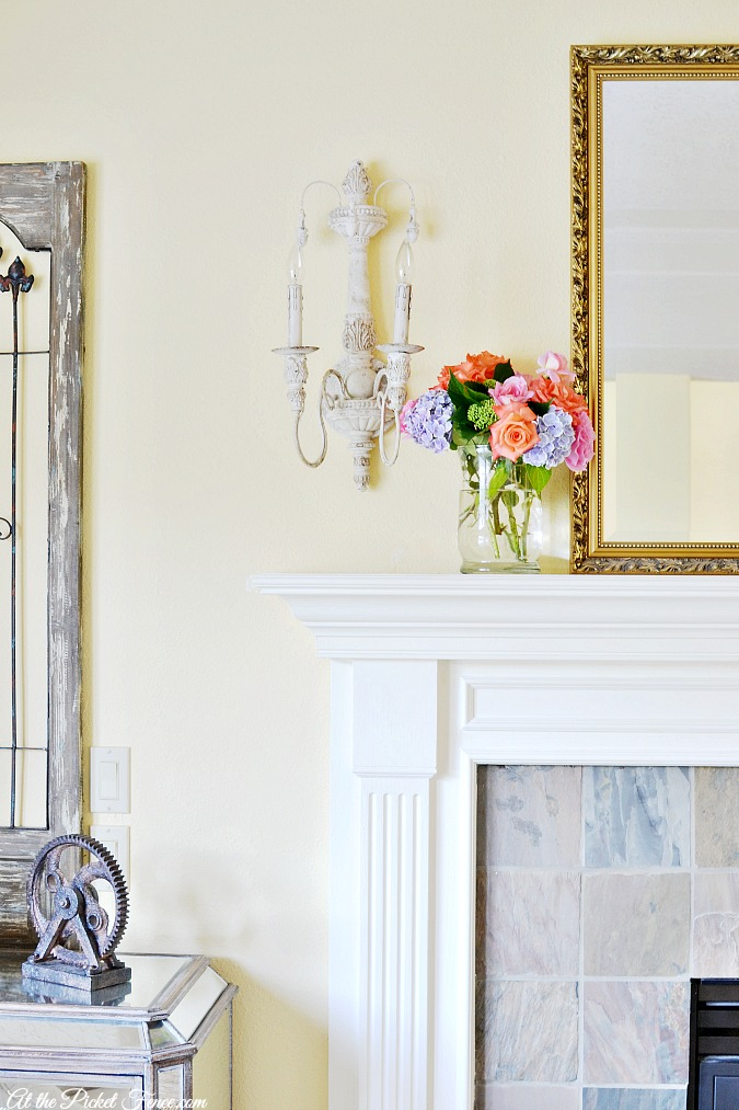 French Country Sconces - At The Picket Fence