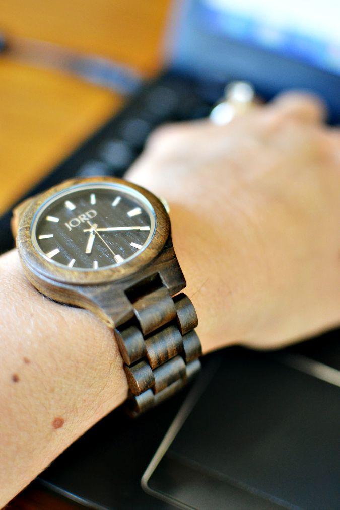 JORD Fieldcrest Maple Watch atthepicketfence.com