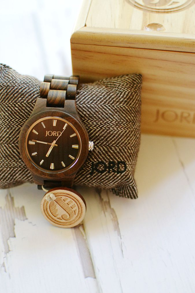 JORD Wood Watch and box atthepicketfence.com