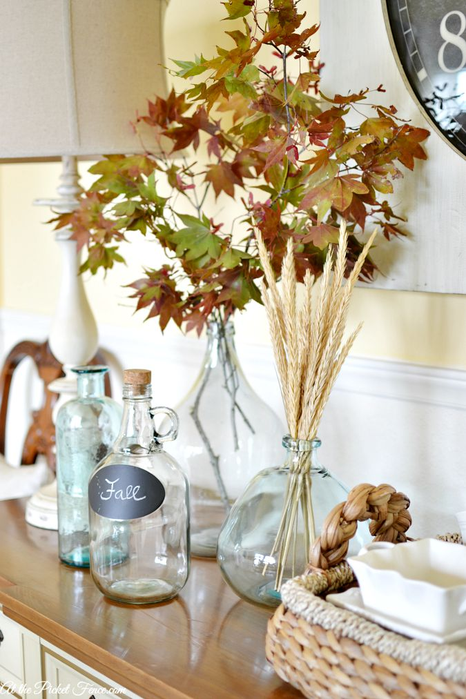 Fall Home Tour 2015 At The Picket Fence