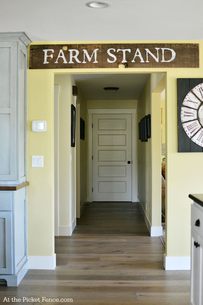 Farm Stand Wood Sign atthepicketfence.com