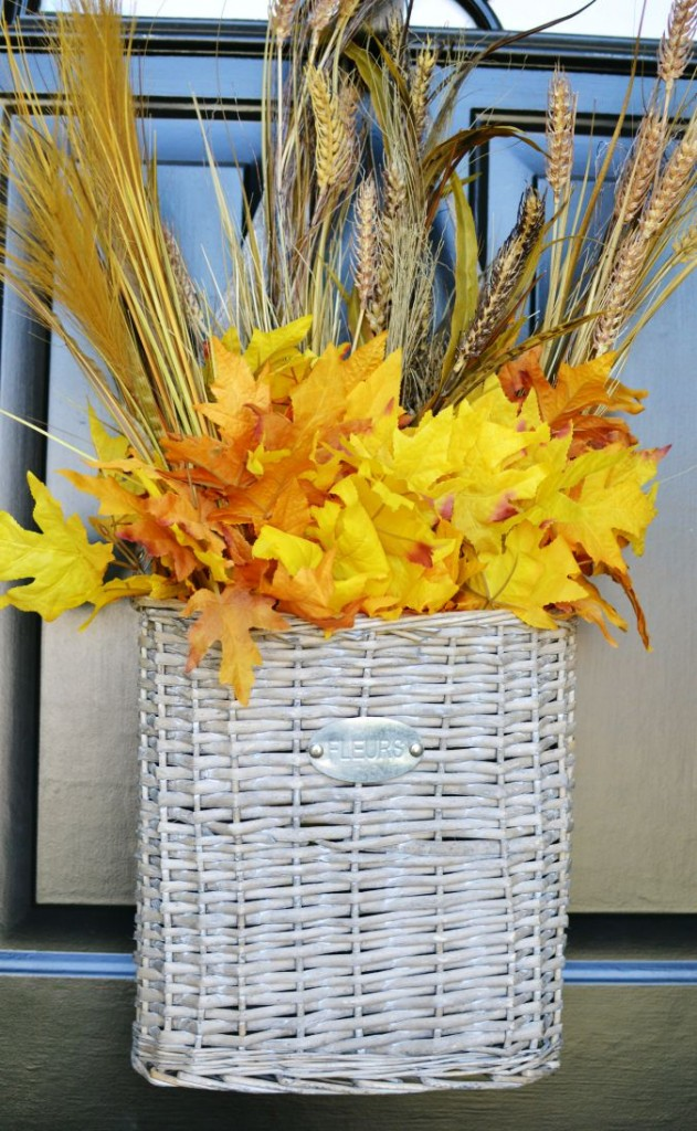 fall front door basket step2