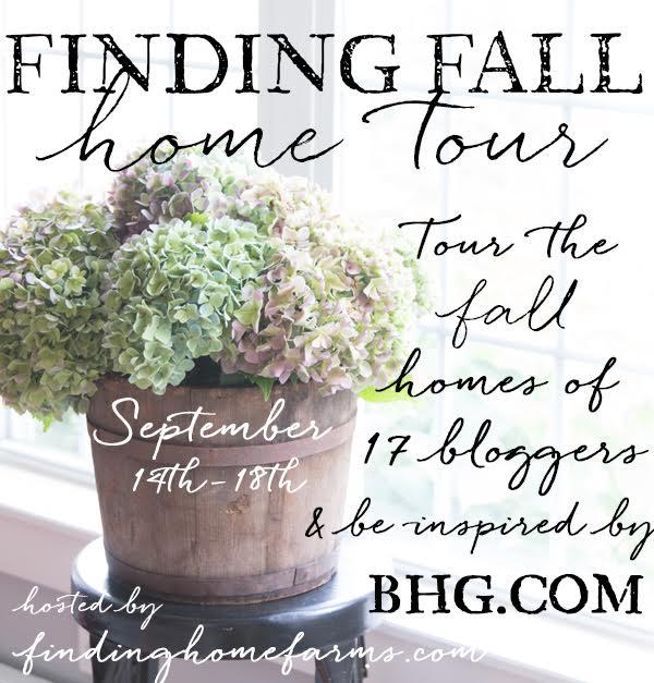 fall home tour button