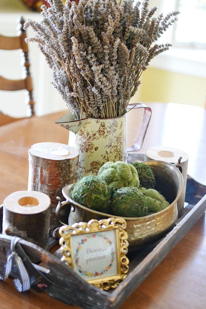 Farmhouse Table Centerpieces on Pinterest Farmhouse  : farmhouse table centerpiece atthepicketfencecom from uk.pinterest.com size 675 x 1013 jpeg 181kB