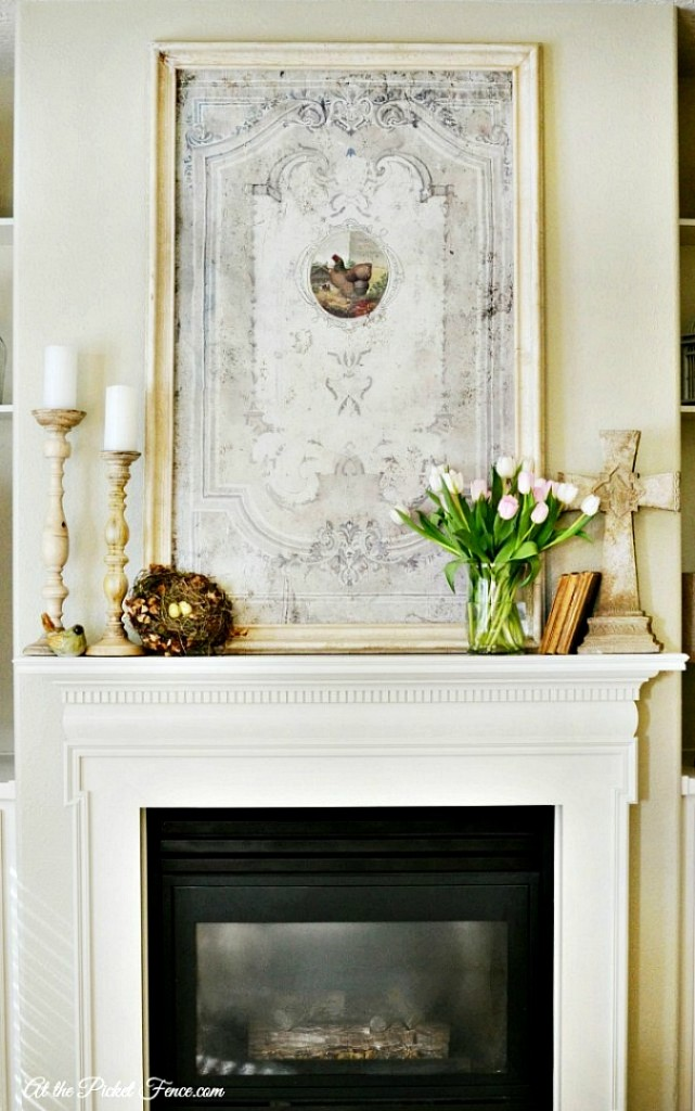 Spring-mantel-decorating-ideas-from-atthepicketfence.com_-641x1024