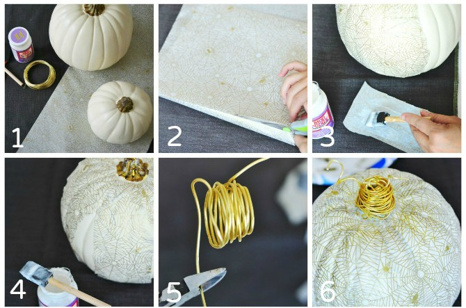 White-and-Gold-Decoupage-Pumpkins-Tutorial