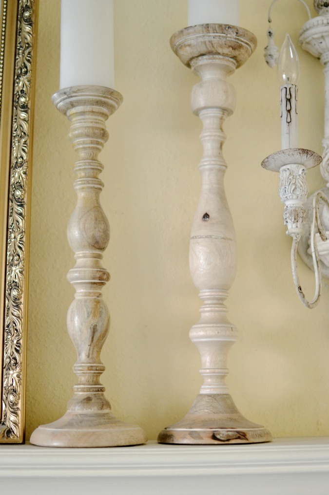 wood candlesticks atthepicketfence.com