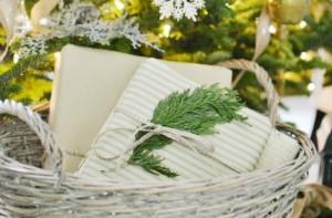 Christmas basket slide