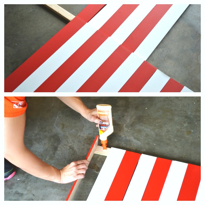 DIY Wooden American Flag tutorial 3