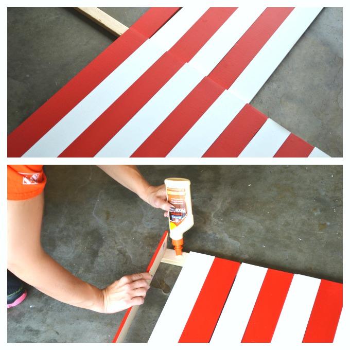 DIY Wooden American Flag tutorial 3