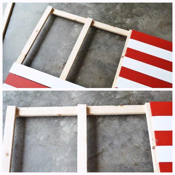 DIY Wooden American Flag tutorial 5