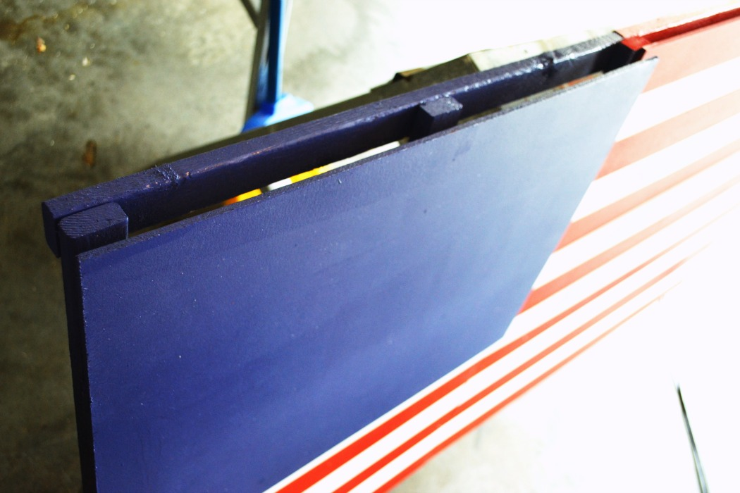 DIY Wooden American Flag tutorial 6