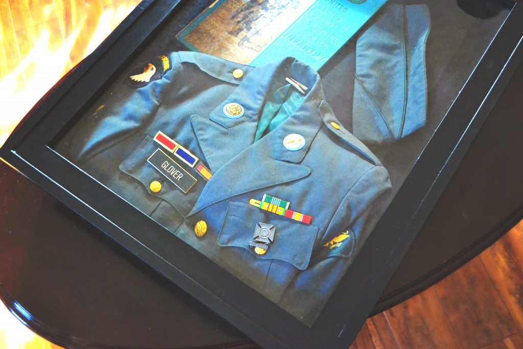 Military display DIY Shadowbox 4