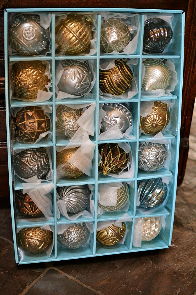 martha stewart for home depot ornaments
