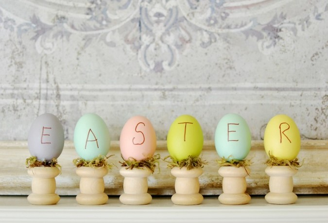 Simple Easter Egg Tabletop Craft