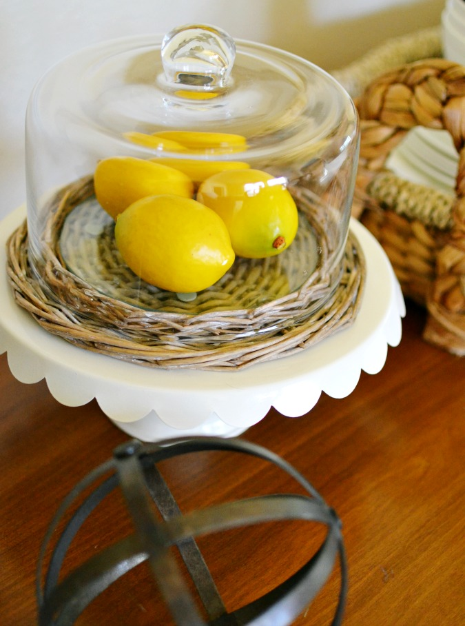 Using lemons in home decorating atthepicketfence.com