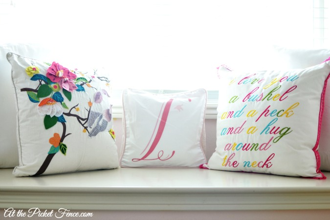 window seat pillows atthepicketfence.com
