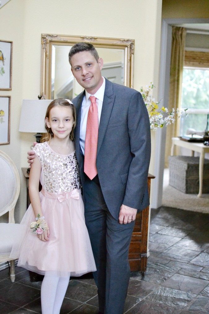 Father daughter ball photo