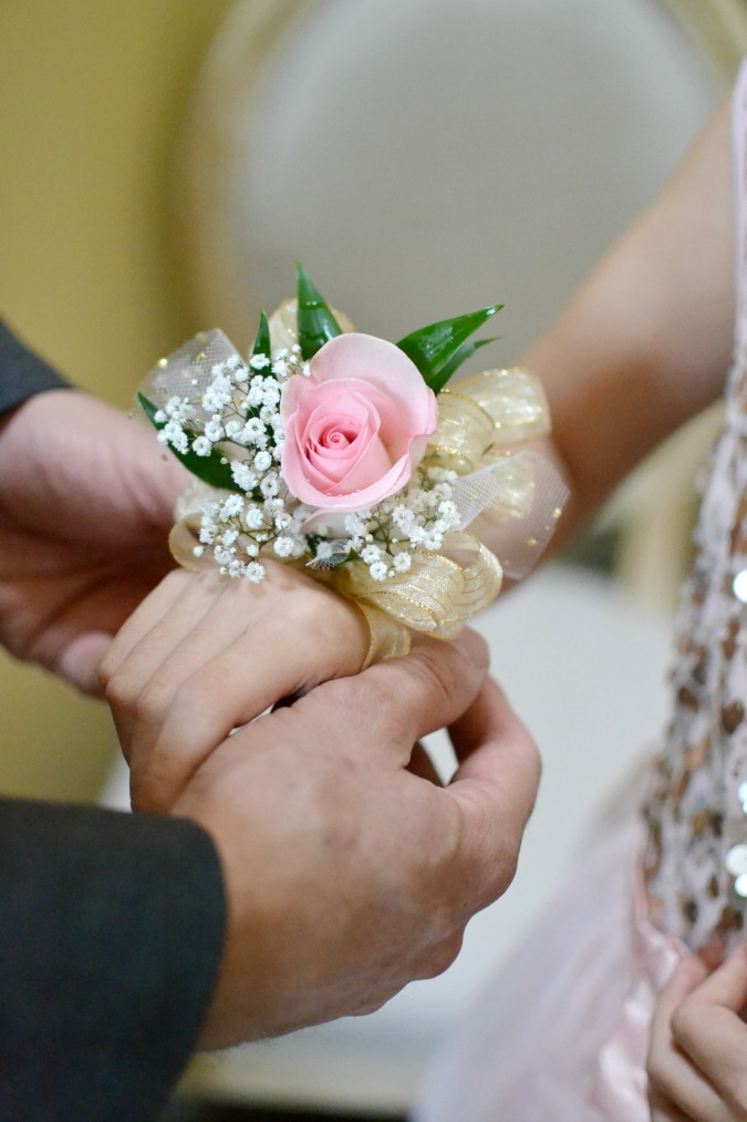 corsage for father daughter ball