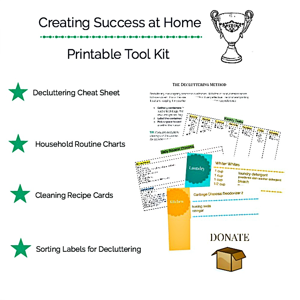 Creating Success at Home Toolkit Collage