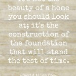 beauty of a home quote