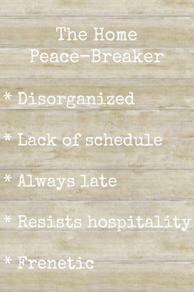 peace-breaker slide