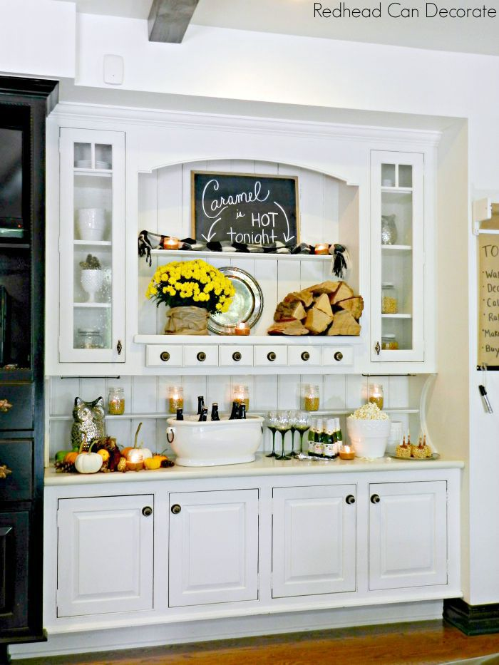 Built In Kitchen Cabinet Makeover
