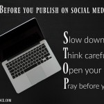 Before you publish on social media acronym atthepicketfence.com