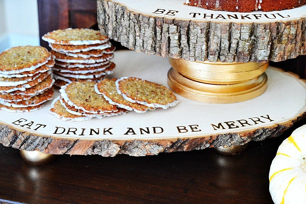 Rustic Refined Wood Dessert Trays