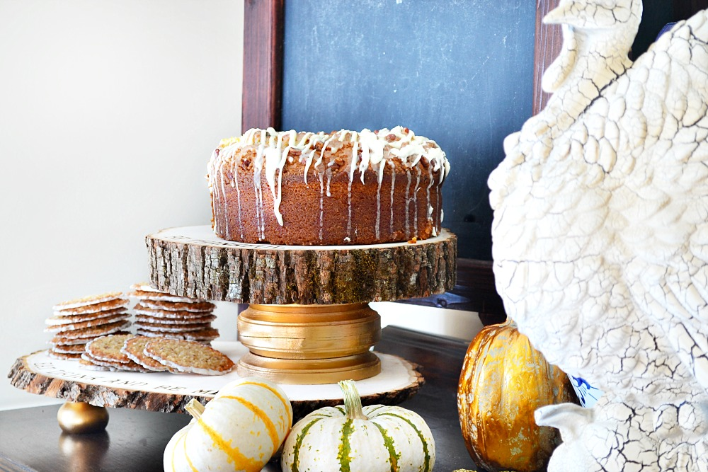 Rustic Refined Wood Dessert Trays