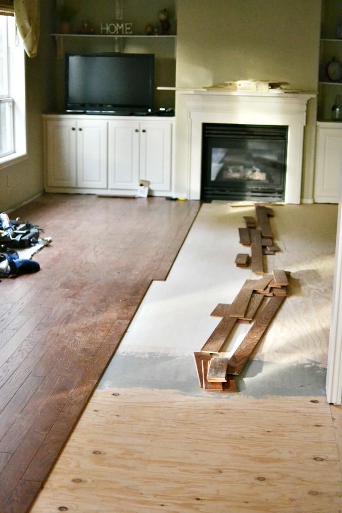 Shaw flooring installation 2