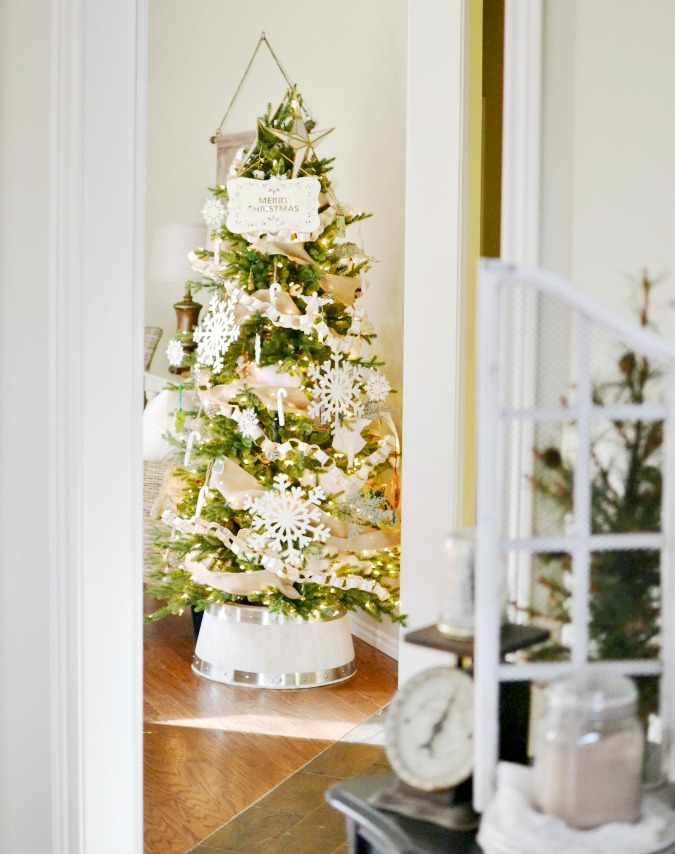My Christmas Home Tour At The Picket Fence