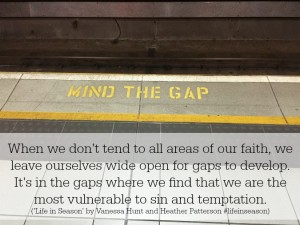 mind the gap quote