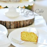 Eggnog Cake with watermark atthepicketfence.com