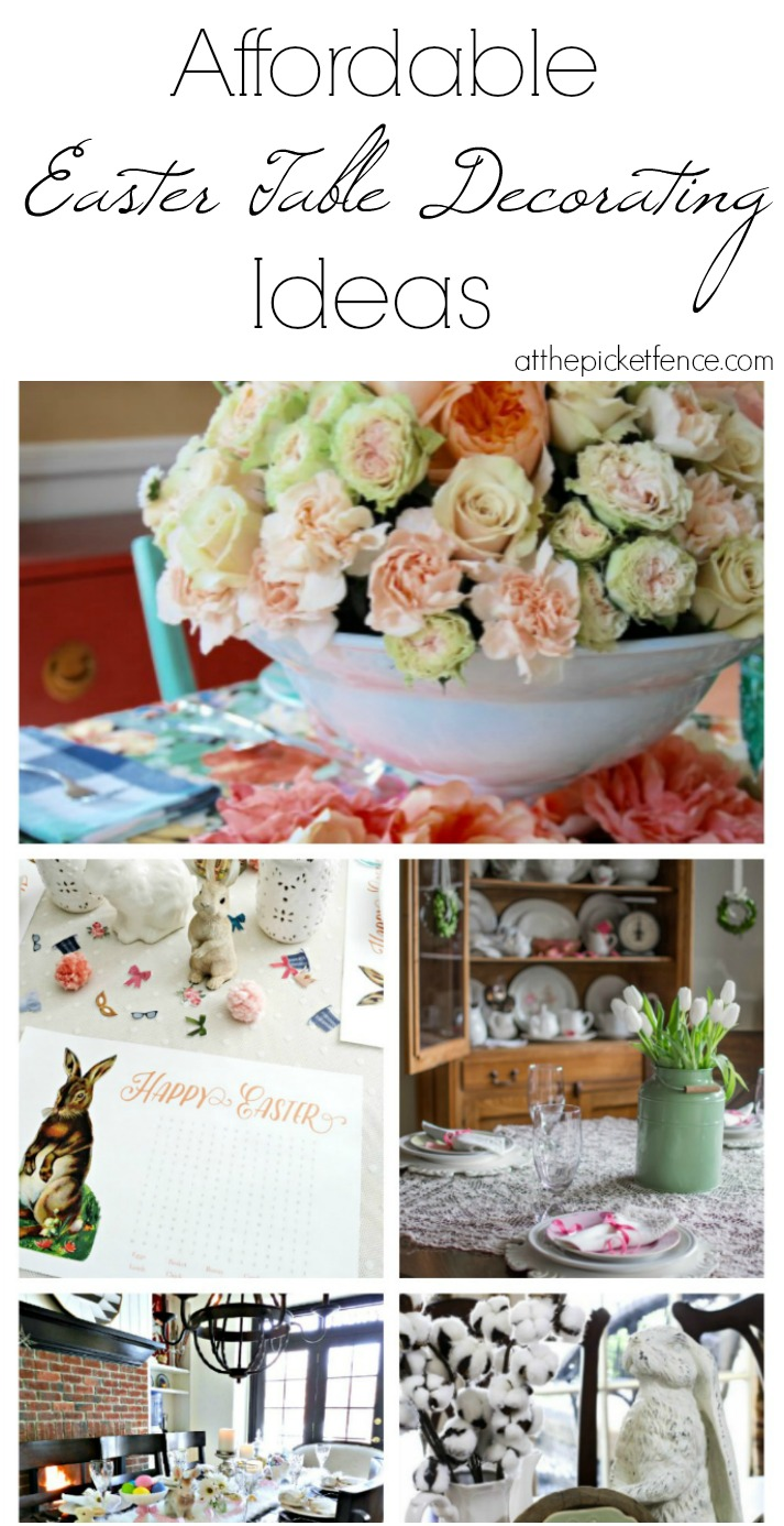 Affordable Easter Table Decorating Ideas