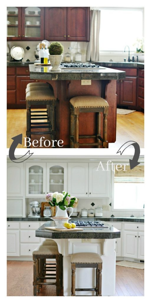 Kitchen Makeover Reveal At The Picket Fence