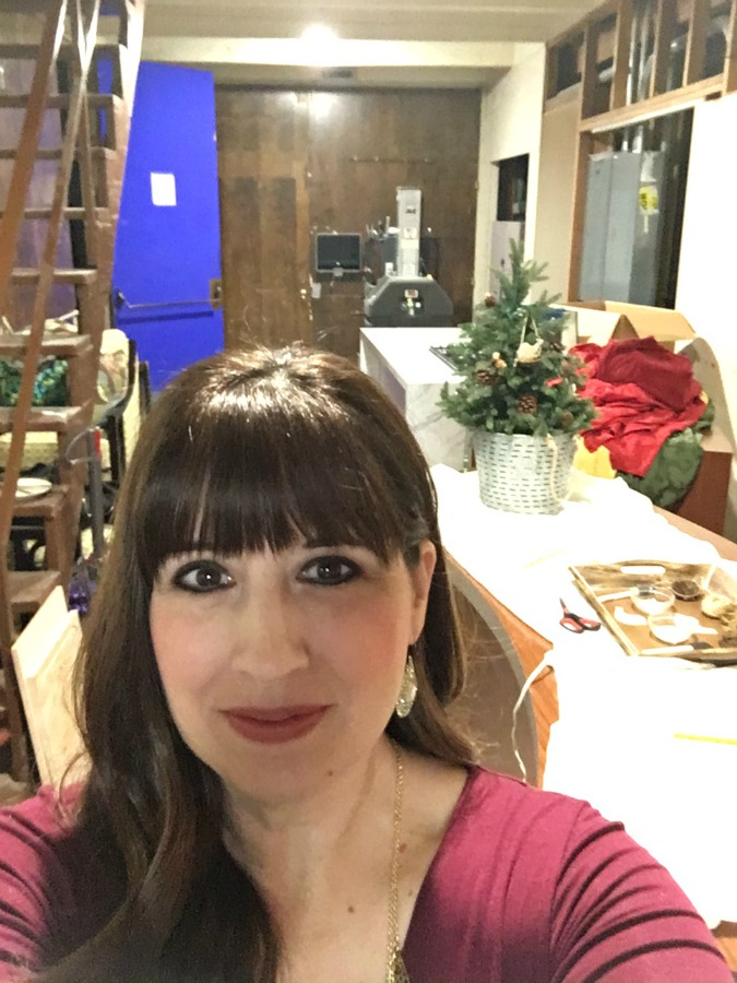 backstage at AMNW