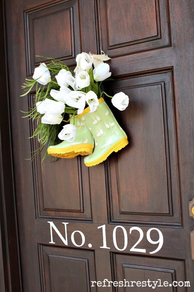 Repurposed Wreath Ideas At The Picket Fence