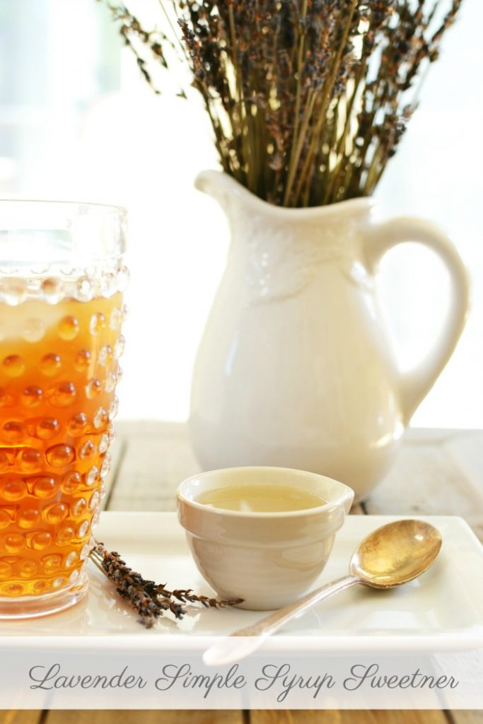 lavender, simple syrup, summer drinks