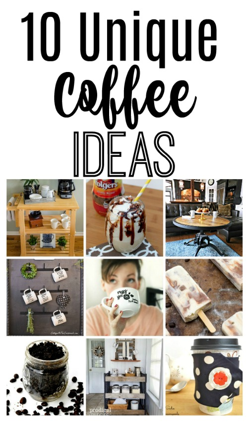 10 unique coffee ideas at the picket fence for Unique picture ideas for facebook
