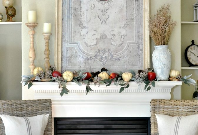 Fall Decorating Home Tour with Shaw Floors