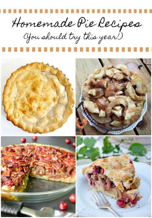 7 Homemade Pie Recipes