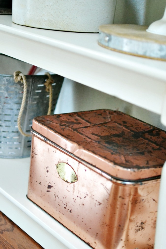 Vintage Copper Bread Box Find!