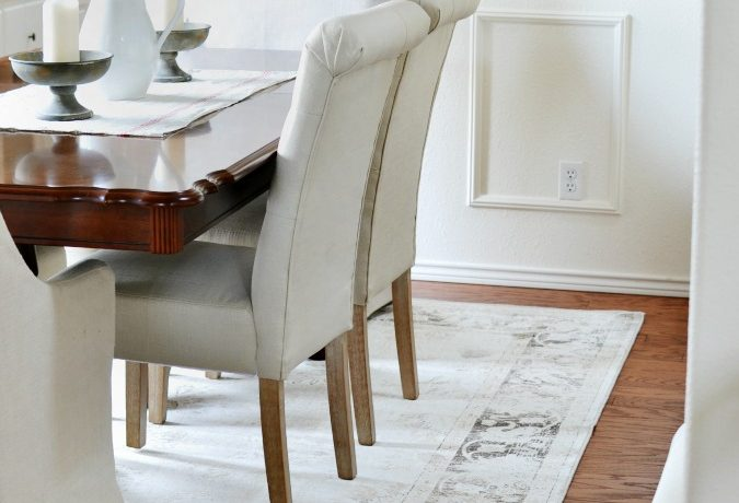 Living and Dining Room Hardwood Flooring Reveal
