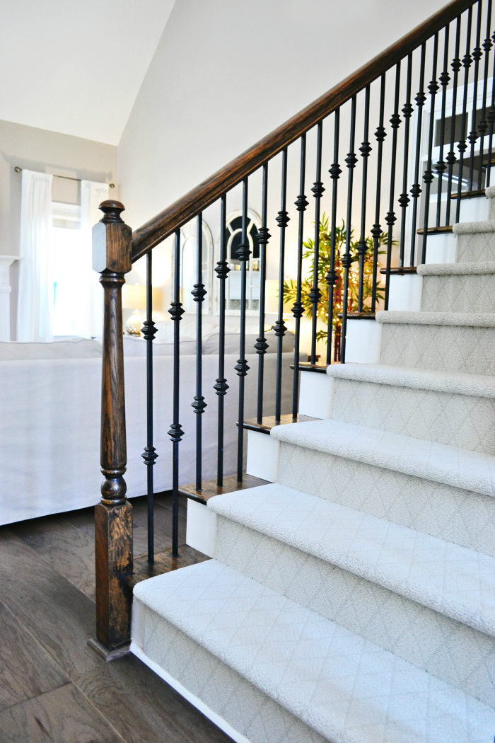 Staircase Makeover with Shaw Floors!