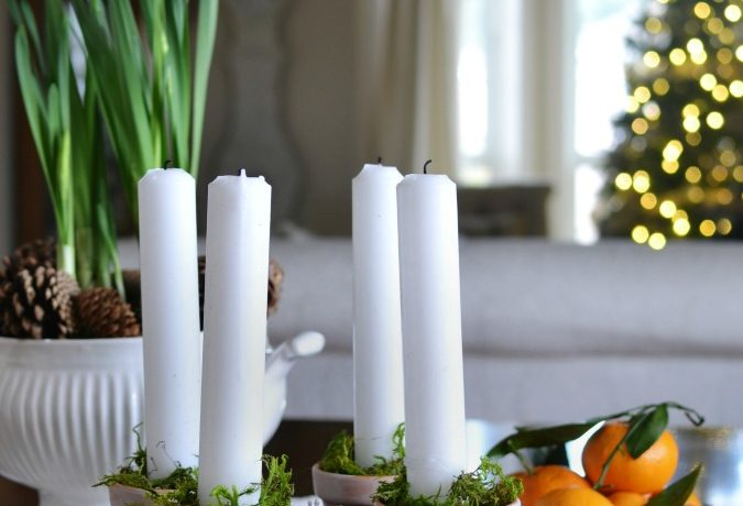 Incorporating Advent Candles Into Your Christmas Decor