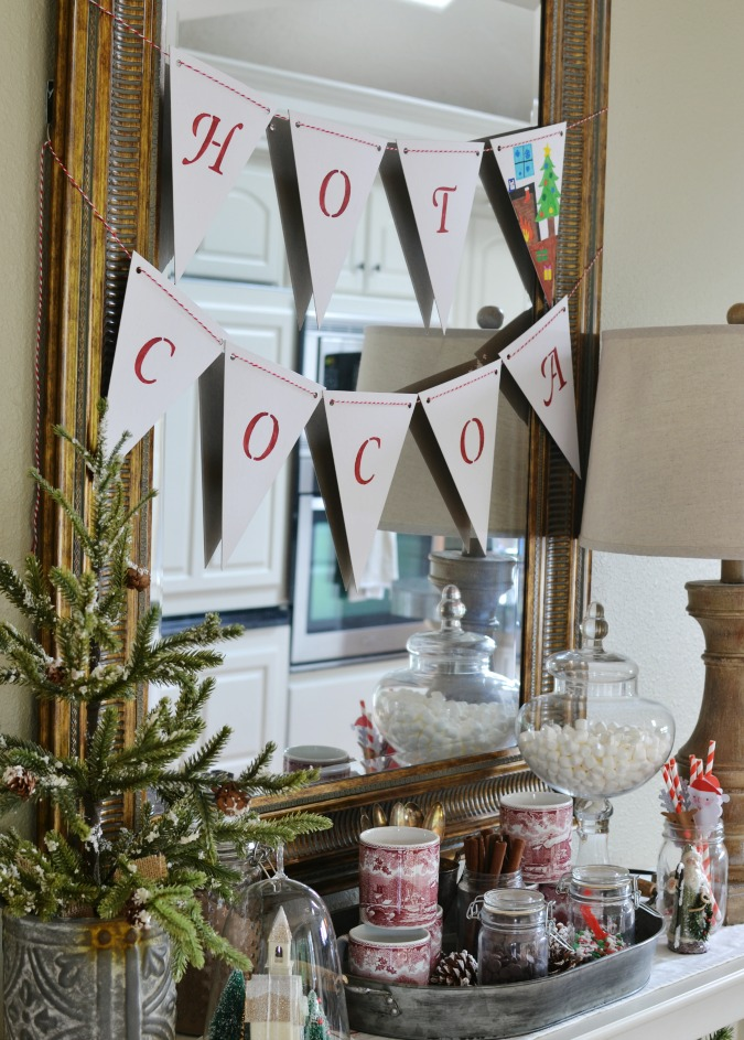 Simple and Sweet Hot Cocoa Bar